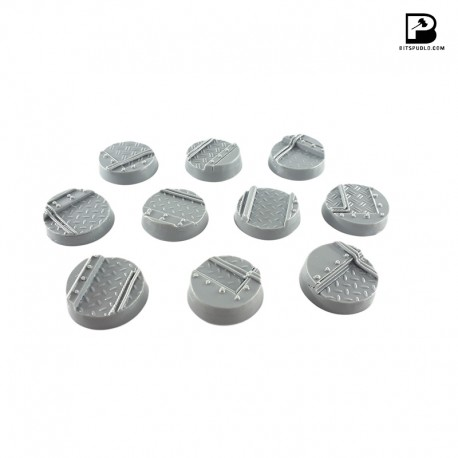 25mm Round Industrial Bases (x10)