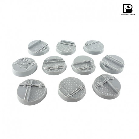 32mm Round Industrial Bases (x10)