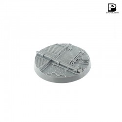 80mm Round Industrial Base
