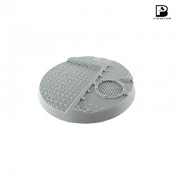 90mm Round Industrial Base