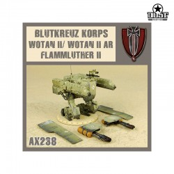 Flammluther II / Wotan II / Wotan II AR Unassembled Kit