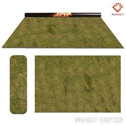 """Grass 3 / Desert - Double-Sided 72"""" x 48"""" Mat for Battle Games"""