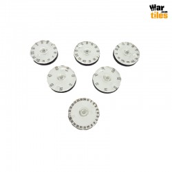 Small Wound Dials - Plain Colors