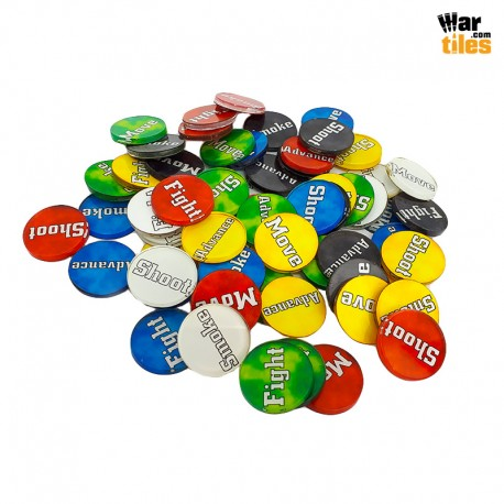 Wargaming Tokens Set