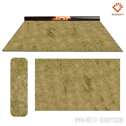 """Grass 2 / Swamp 2 - Double-Sided 72"""" x 48"""" Mat for Battle Games"""