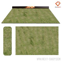 """Grass 1 / Swamp 1 - Double-Sided 72"""" x 48"""" Mat for Battle Games"""