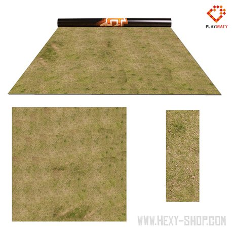 Grass 2 / Swamp 2 – Double-Sided 48″ x 48″ Mat for Battle Games