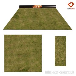 Grass 3 / Desert – Double-Sided 48″ x 48″ Mat for Battle Games