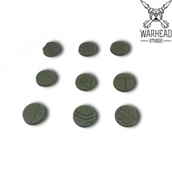 25mm Industrial Bases (10)