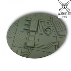 120mm Industrial Oval Base (1)