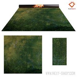 Forest Moss / Dark Island – Double-Sided 48″ x 48″ Mat for Battle Games