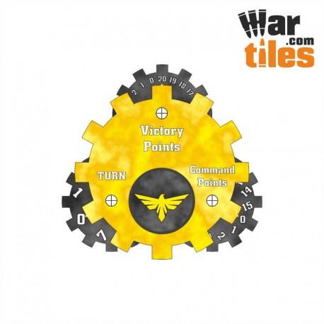 Battle Tracker - Golden Fists