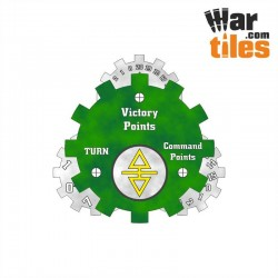 Battle Tracker - Ancient Elder (White-Tan pattern)