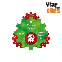 Battle Tracker - Orks (Red Axes pattern)