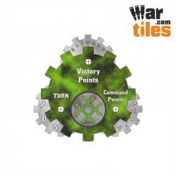 Battle Tracker - Necrotic Guardians (Green Dynasty pattern)