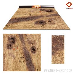 """Wasteland 2 / Treasure Island - Double-Sided 36"""" x 36""""Mat for Battle Games"""