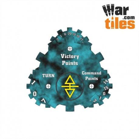 Battle Tracker - Dark Elder (Cabal Pattern)