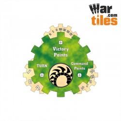 Battle Tracker - Tyrannical Aliens (Jungle Pattern)