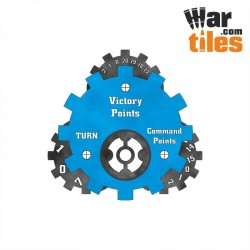 Battle Tracker - Tau (Blue Pattern)