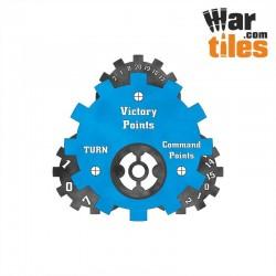 Battle Tracker - Tau (Blue Pattern)