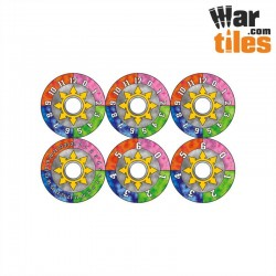 Small Wound Dials - Colours of Chaos