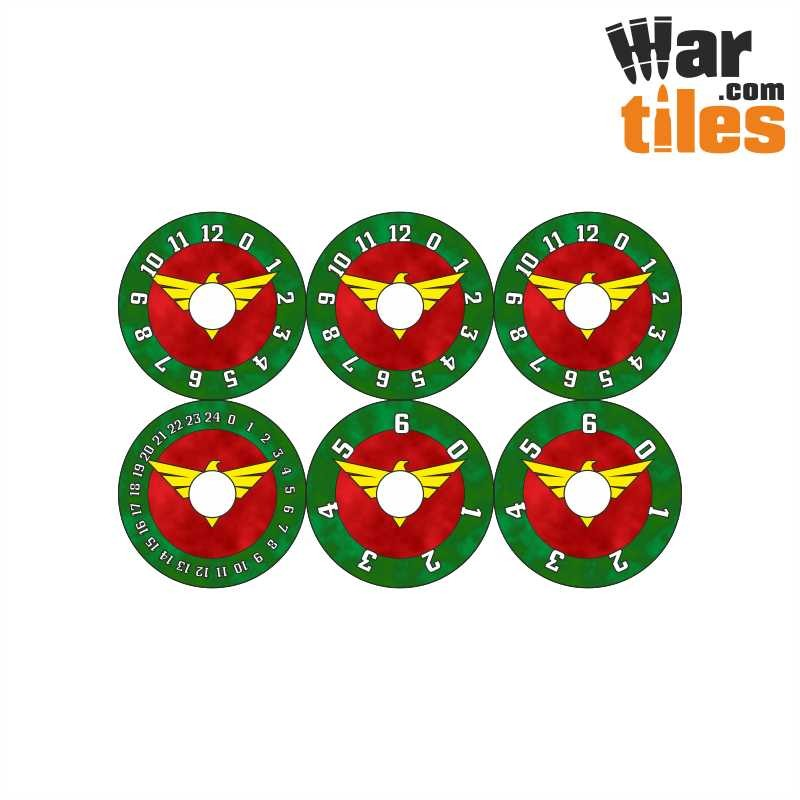Small Wound Dials - Fallen Angels - Hexy Store - All