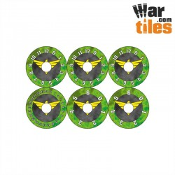 Small Wound Dials - Dragons
