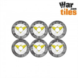 Small Wound Dials - Black Crusaders