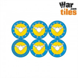 Small Wound Dials - Ultramarine Warriors