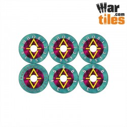 Small Wound Dials - Harlequins