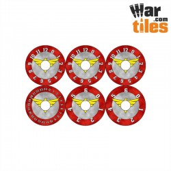 Small Wound Dials - Imperial Militarum