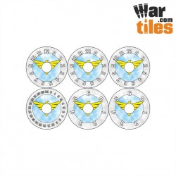 Small Wound Dials - Imperial Militarum (Winter Pattern)