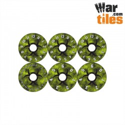 Small Wound Dials - Bio Hazard