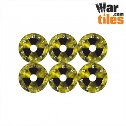 Small Wound Dials - Radioactive