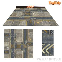 """Infinity 1 / Rice Field - Double-Sided 36"""" x 36"""" Mat for Battle Games"""