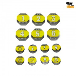 Kill Teams Tokens Set - Yellow