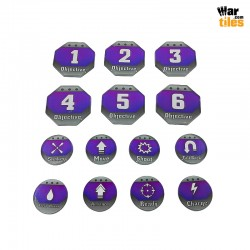 Kill Teams Tokens Set - Purple