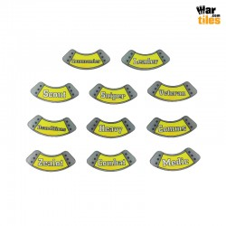 Kill Teams Specialists Tokens Set - Yellow