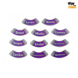 Kill Teams Specialists Tokens Set - Purple