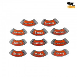 Kill Teams Specialists Tokens Set - Orange