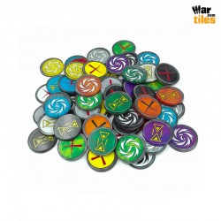 Warcry Tokens Set