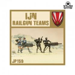 IJN Railgun Teams