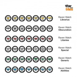 Space Warriors Tokens Set - Raven Watch