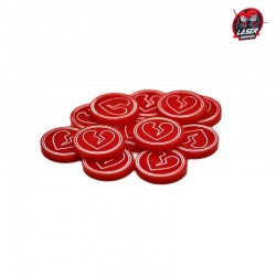 Broken Heart Tokens Set (10)
