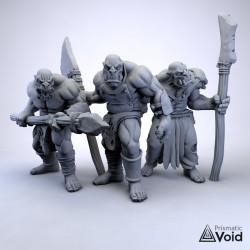 Orcs with spears