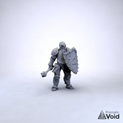 Warforged Fighter - Cog