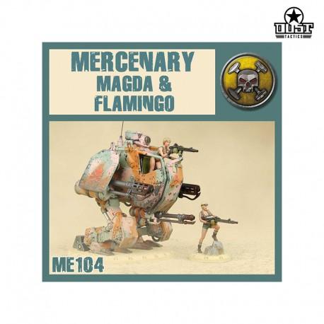 Mercenary Magda & Pink Flamingo