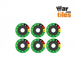 Vehicle (0 - 11) Wound Dials Set