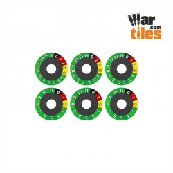 Vehicle (Various) Wound Dials Set