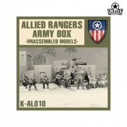 Allied Rangers Army Box (Unassembled)